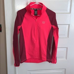 Victoria's Secret pink thin workout pullover